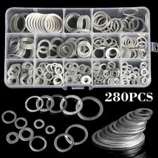 25 Stück Aluminium Dichtringe 6x12x1mm Gewinde M 6