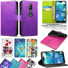 For Nokia 7.1 - Shockproof New Stylish Wallet Leather Phone Flip Case Cover