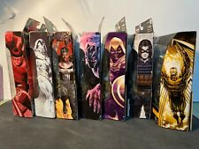 LOT of 7 Marvel Legends/Build-A-Figure Archangle, Black Panther, Punisher, +More