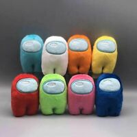 12 Colors Among Us Game Plush Soft Stuffed Toy Dolls Game Figure Plushie Gift