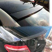 Carbon Fiber Trunk Spoiler BOOT D-Performance 08-13 W204 + ROOF WINDOW