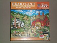 MASTERPIECES 500 Piece Jigsaw Puzzle FRIDAY NIGHT HOE DOWN-BONNIE WHITE-COMPLETE