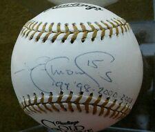 JIM EDMONDS Autographed Rawlings Gold Glove Baseball JE2