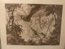 "Ray Harryhausen Signed Art Print- Dark Horse  Limited ""Valley Of The Mist"