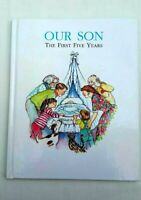 Our Son The First Five Years Baby Diary Record Book Kate Aldous Vintage 1991