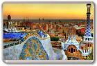 Barcelona Fridge Magnet 01