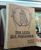 J.F. Cooper: Der letzte der Mohikaner, Nürnberg Theo Stroefer, Jugendstil
