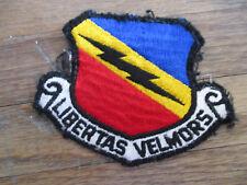 vintage USAF Libertas Velmors Squadron Patch