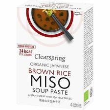Clearspring instantanée Soupe Miso pâte avec mer légumes - 60 g - 64111