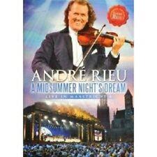 """ANDRÉ RIEU """"A MIDSUMMER NIGHTS DREAM LIVE"""" DVD NEW+"""