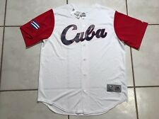NWT MAJESTIC Cuba 2017 World Baseball Classic Jersey Men's Small