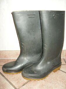 ELBIT Gummistiefel, Stiefel, Größe 42, Grün-braun