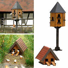 Model Busch 1521 NEW PIGEON HOUSE & DUCK HOUSE