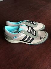 New Adidas Womens Daroga Running Hiking Shoes Size 9 Tan And Dark Green