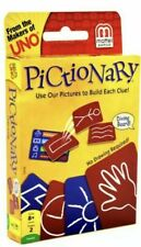 Pictionary Card Game No Drawing! Family Fun New