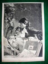 1882 - Amenità, quadro del signor Virgilio Ripari (disegno del signor A.Cairoli)