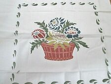 """Colonial Americana Quilt Quilting Pillow Cover Kit Silk Screen Cotton 18""""x18"""""""