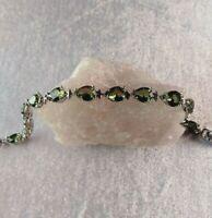 Turkish Handmade Jewelry 925 Sterling Silver Alexandrite Ladie's Bracelet