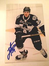 Joel Teasdale SIGNED 4x6 photo BLAINVILLE BOISBRIAND ARMADA / NHL DRAFT 2017 #2
