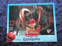 ELMO IN GROUCHLAND lobby card #3 ELMO, BIG BIRD