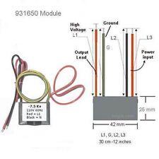 120VAC Negative ion Generator Module 110V 120V ionizer 7.5KV High Voltage Clean