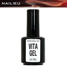 Vitamin Adhesive Gel For Weak Nails nail1eu Vita Gel 15 ml / haft-gel Primer