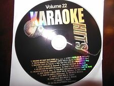 Karaoke Hits Vol  22 ( Country, Pop, Oldies Mix)