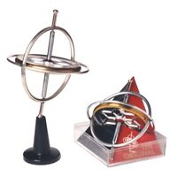 GYROSCOPE #00006 TEDCO TOYS  Gyroscope Continues to fascinate & teach~Clear Box