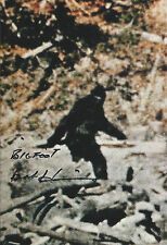 "Bob Heironimus signed autograph ""Bigfoot"" Patterson-Gimlin EXTRA RARE LOOK!!!"