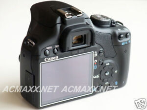 "ACMAXX 3.0"" HARD LCD SCREEN PROTECTOR for CANON EOS 600D / Rebel T3i / KISS X5"