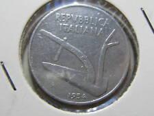 Repubblica Italiana 10 Lire Spighe 1954 bb