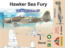 Amg 1/48 modèle kit 48604 hawker sea fury T.61 pakistan af