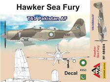 AMG 1/48 Model Kit 48604 Hawker Sea Fury T.61 Pakistan AF