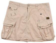 G-star Original Jeans Raw Femme Laundry Officier Jupe Trapèze Taille 25 Cargo