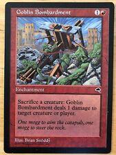 Goblin Bombardment Tempest mtg SP