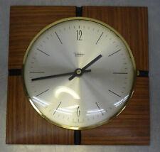 mid century design 60s - Elektromechanische Wanduhr DIEHL electronic Uhr 60er