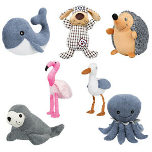 Trixie Dog Teddy Toy Plush Squeaky Sound Soft Chew Toys for Pet Puppy
