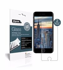 1+1x Apple iPhone 8 Schutzfolie - Panzerfolie 9H Folie dipos Glass