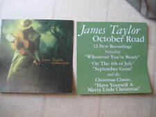 """James Taylor 2002 """"October Road"""" Pair(2) Of 2-Sided Promotional Display Flats"""