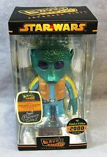 "Funko Hikari Star Wars ""METALLIC GREEDO"" Brand New Sofubi Japanese Vinyl"