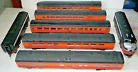 Athearn F7A&B Diesel 7 Pcs Trainset Southern Pacific Black Widow Rd# SP6169 - HO