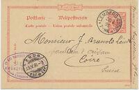 """DT.REICH""""LEMBERG (LOTHR.)"""" sehr selt. K1 (jetzt Frankreich) Auslands-GA 1896"""