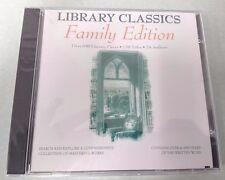 NEW Retro Win95 -Library Classics Family Edition Shakespeare Plato Twain & More