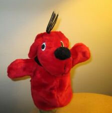 VINTAGE CLIFFORD THE BIG RED DOG PLUSH HAND PUPPET NORMAN BRIDWELL MERRY MAKERS
