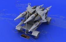 Eduard Brassin 648045 1/48 SOVIET rs-2us / AA-1 alcali MISSILE carrello di servizio