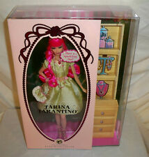 Tarina Tarantino Barbie Doll 2008 NRFB GOLD label World-renown jewelry designer
