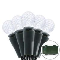 50 LED Globe Light Bulbs Battery Operated Fairy String Lights Xmas Party, NEW