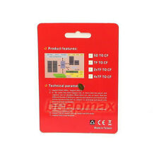 SDHC SD SDXC High Speed to CF Compact Flash Memory Card Reader Adapter Type I UK