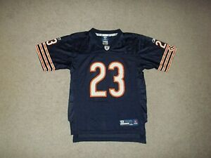Rare Devin Hester Chicago Bears Reebok Blue #23 Youth Boy's Large 14-16 Jersey