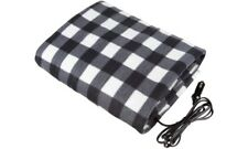 Premium Cozy Electric Car Blanket Heated 12V Fleece Travel Throw for Car and RV-